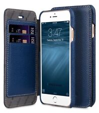 Melkco Leather Case for Apple iPhone 7 PLUS/8 PLUS (5.5'') - Face DARK BLUE H155
