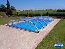 Schwimmbadüberdachung Poolüberdachung Pooldach Dallas B Clear ELOX