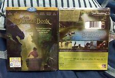 THE JUNGLE BOOK (Blu-ray/DVD, 2016, )*BRAND NEW*FREE SHIPPING*
