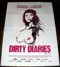 DiRTY DiARiES Feminism Pornography LARGE French POSTER