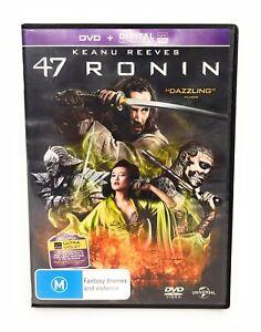 47 Ronin (DVD, 2018) Keanu Reeves Region 4 Free Postage