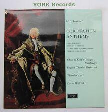 Zrg 5369-Handel-himnos DE CORONACIÓN King's College Choir-ex con Disco Lp