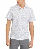INC Mens T-Shirt Classic Light Gray Size Small S Wallflower Hoodie $65 351