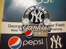 2013 NEW YORK YANKEES SPRING TRAINING PEPSI DAY PIN MARCH 16, 2013