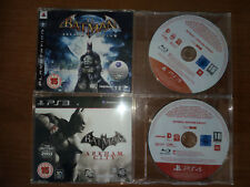 BATMAN ARKHAM ASYLUM + CITY + ORIGINS + KNIGHT  PROMO PS3 PS4 PLAYSTATION  RARE