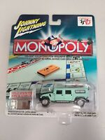 JOHNNY LIGHTNING MONOPOLY 70TH HUMMER BRAND NEW IN PACKAGE