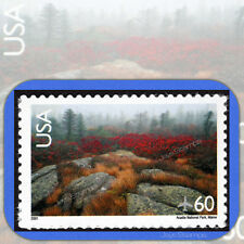 2001 ACADIA NATIONAL PARK  Scenic American Landscapes 60¢ Single AIR MAIL  #C138