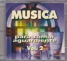RARE CD Musica para tomar aguardiente V2 TITO CORTES julio jaramillo OLIMPO alci