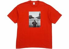 Supreme UNDERCOVER / Public Enemy White House Tee SMALL RED - IN HAND