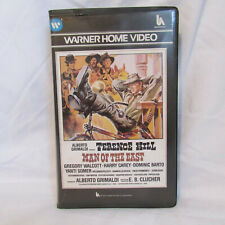 MAN OF THE EAST 1972 - WARNER HOME VIDEO - PRE CERT - VHS tape