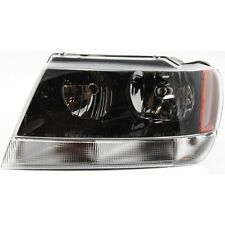 Headlight For 99-2004 Jeep Grand Cherokee Driver Side w/ bulb