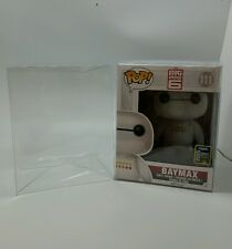 """3 Funko Pop! 6"""" Vinyl Box Protector Acid Free Crystal Clear Case Pack of 3"""