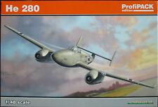 Eduard 1/48 EDK8068 Heinkel He280 Jet Fighter Profipack