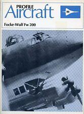 Profile Aircraft : Focke-Wulf Fw 200 #99 (Paperback)