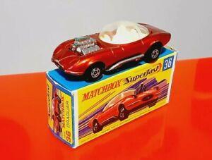 Matchbox Superfast Rolamatics N°69 Turbo Fury MADE IN ENGLAND