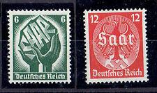 Dt. Reich ** MiNr 544 -545 Saarabstimmung 1935