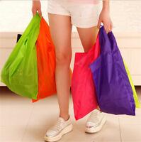 Foldable Shopping Bag Reusable Grocery Storage Handbag Vegetable Tote Folding