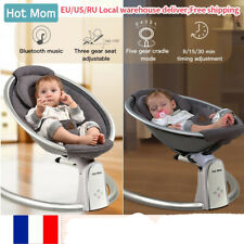 Hotmom Electric Baby Bouncers Intelligence Timing Baby Swing  Baby Rocker Cardle