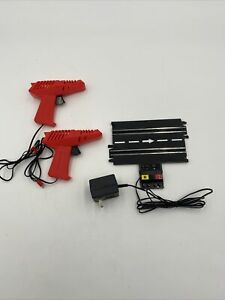 Vintage ARTIN 1/43 Slot Car Terminal Track Power Supply & Controllers