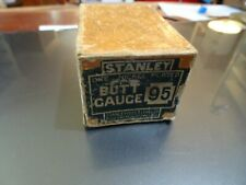 Jim Dandy Stanley 95 Butt Gauge Great Plating In The Box