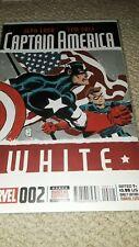 Captain America White #2A 2015 - Nm