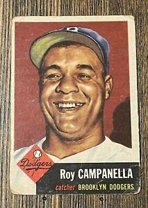 1953 Topps #27 Roy Campanella