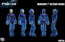 "Tron 2.0 - 7"" Mercury Action Figure with Glow Rod and Display Stand - Neca"