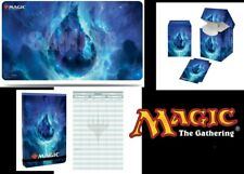 More details for magic the gathering ultra pro deck box, playmate & life pad land sets!