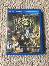 Dragon's Crown (Sony PlayStation PS Vita) AUTHENTIC & TESTED WORKING