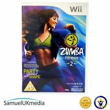 Zumba 2 Fitness (Wii) - Game Only (Wii) **GREAT CONDITION**