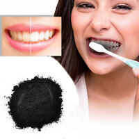100% ORGANIC ACTIVATED CHARCOAL COCONUT TEETH WHITENING POWDER NATURAL CARBON