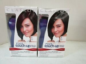 2 CLAIROL ROOT TOUCH-UP #3 BLACK SHADES 1 APPLICATION EACH - PERMANENT MM 18283