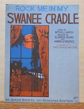 Rock Me In My Swanee Cradle - 1922 sheet music