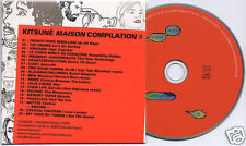 Kitsune Maison Compilation 8 French promo CD Drums Crystal Fighters Delphic