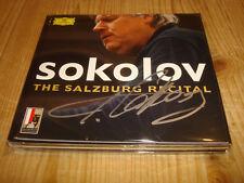 GRIGORY SOKOLOV Piano The Salzburg Recital DGG 2CD 4794342 Signed Signiert