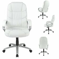 NEW Executive High Back PU Leather Ergonomic Office Desk Computer Chair 674