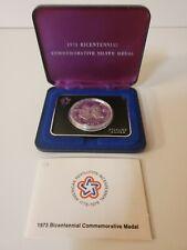 1973 Bicentennial Commemorative Silver Medal