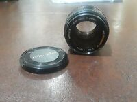Minolta 50mm F/1.4 Rokkor-X MD Mount Manual Focus Lens