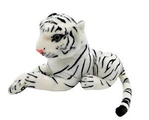 Tiger Weiß 27 cm Baby Kuscheltier Stofftier Raubkatze Plüschtier Wildtier