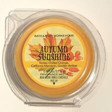 1 NEW BATH & BODY WORKS AUTUMN SUNSHINE FRAGRANCE WAX MELTS .97 OZ REFILL TART