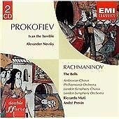 PROKOFIEV - IVAN THE TERRIBLE: ALEXANDER NEVSKY, RACHMANINOV: THE BELLS (2CD)