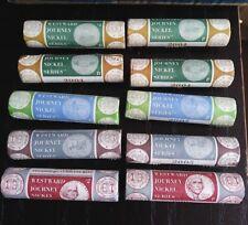 2004 2005 2006 Westward Journey Bison Nickel P + D U.S. Mint Wrapped 10 Roll Set