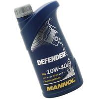 1L Motoröl MANNOL Defender 10W-40 1x MANNOL Motor Doctor ADDITIV