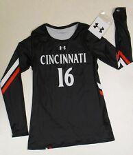 New Under Armour Cincinnati Bearcats Official Womens Team Volleyball Jersey Med.