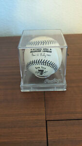 1996 Rawlings MLB Official Mickey Mantle Commemorative Baseball with Case