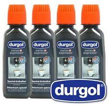 Durgol Swiss Espresso Special Decalcifier, Pack of FOUR125ml TASSIMO SENSEO