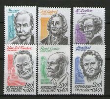 SERIE TIMBRES 2279-2284 NEUF XX LUXE - PERSONNAGES CELEBRES DE 1983