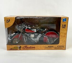 Indian Motorcycle NewRay 1:6 Die-Cast Realistic Figure New In Box Official