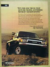 1991 Toyota 4x4 Xtracab SR5 V6 Pickup Truck photo vintage print Ad