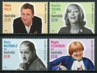 Australia People Stamps 2020 MNH Comedy Legends Adam Hills Noeline Brown 4v Set